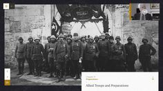 Sons of Gallipoli | Interactive Storytelling Documentary Website Design  | Award-winning Digital Design