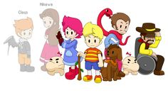 Mother 3 characters