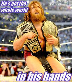 Bray Wyatt was wrong it's not John Cena who has the whole world in his hands it#s new WWE World Heavyweight Champion Daniel Bryan!  Check out 'The WrestleManiacs' our brand new comedy web series about 3 pro wrestling fans raised in the era of attitude!  www.youtube.com/TeamFilmIt www.twitter.com/RealTeamFilmIt http://www.TheWrestleManiacs.com www.facebook.com/TeamFilmIt