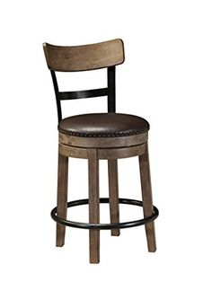 Special Offers - Signature Design by Ashley Pinnadel Swivel Barstool - In stock & Free Shipping. You can save more money! Check It (December 02 2016 at 02:58AM) >> http://counterstoolsusa.net/signature-design-by-ashley-pinnadel-swivel-barstool/