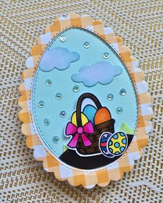 #eastercards #eastercrafts #greetingcards #handmadecrafts #handmadecards #diycrafts #diycards #artsandcrafts #cardmaking Egg Stamp, Easter Backgrounds, Pretty Pink Posh, Yellow Pattern, Card Making Techniques, Shaker Cards, Ink Pads, Pattern Paper, Easter Crafts