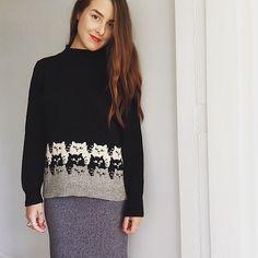 Ravelry: Chiko's Moggies Sweater aka Kitten Stripes!