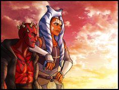 Everyone is taller than Maul Star Wars Fan Art, Star Wars Rebellen, Star Wars Humor, Disney Star Wars, Darth Maul Clone Wars, Marvel, Love Stars, Star Wars Characters, My Favorite Image