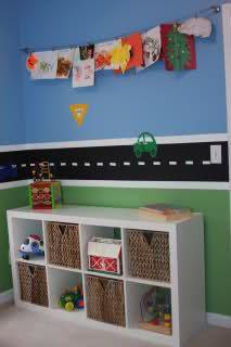 Turn shelves on side for more store