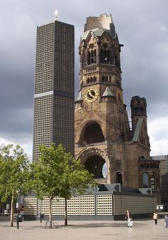 Because we remember with the old and the new. #berlin #history