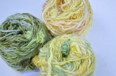 New yarns in the collection of Style in Living: Extra knobbly yarn made of mohair!