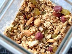 All about Resistant Starch Foods, and a Granola Recipe