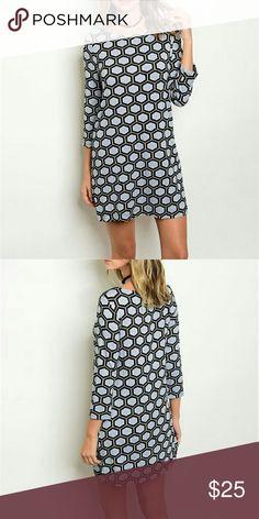 ✌20% Off Bundles✌ Gray and Black Dress NWOT NWOT 95% Rayon 5% Spandex Dresses Mini