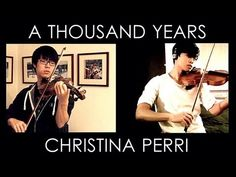 The (Semi) Official JuNCurryAhn and metalsides violin collab of A Thousand Years.     Hope you enjoy the duet and share it all over the internet!     Watch the original cover here: http://www.youtube.com/watch?v=nICbEbCaK40=related    Jun Sung Ahn:  http://www.youtube.com/JuNCurryAhn  http://www.facebook.com/JuNCurryAhn  http://www.twitter.com/Ju...