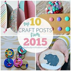 The Life of Jennifer Dawn: Best Crafts of 2015