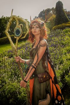 next picture by Holger Lenz, you know what i love about this? this was a rather spontanious photo in the middle of the garden, not even a  photoshoot.  #keyleth #criticalrole #pwcosplay #cosplay #pwgallery #gallery #kiki