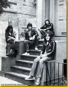 The Ramones- number three, like AC/DC the uglier the members and less effort put into dress the better in my mind, musically (genre speaking) not like AC/DC, but the consistent driving rhythms of the two throughout every album on every song (lol) keeps you rockin' simple, dirty, hard rock, how it was meant to be, piss on the beauty equipment and grab that damn bass! Lets get this shit rollin!