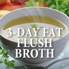 Dr Oz: 3-Day Fat Flush + Vegetable Broth