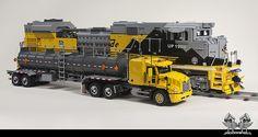 Lego Union Pacific Train