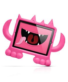 Another great find on #zulily! Pink Monster iPad Case #zulilyfinds