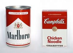 I just remember that as a kid, my grandmother smoking Marlboro's and I would eat chicken noodle soup constantly.