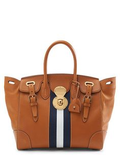 f79ae513ad87 Ralph Lauren Soft Ricky With Sailing Stripe - Ralph Lauren Handbags - Ralph  Lauren UK.