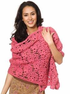 Make It Crochet | Your Daily Dose of Crochet Beauty | Free Crochet Pattern: Fancy Shells Wrap