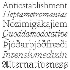Marian Text | Typeface Review | Typographica