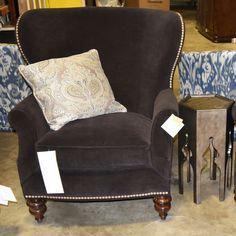 Thomasville Furniture Ernest Hemingway Dinesen Wingback Chair 1483-15 #Thomasville #Wingback