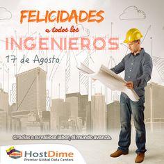 La mejor herramienta de un #ingeniero es la #imaginación, nunca es tarde para decir gracias por tu gran esfuerzo y dedicación, #FelizDíaDelIngeniero. #HostDime #DíadelIngeniero 