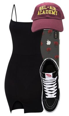"""""""Untitled #5709"""" by rihvnnas ❤ liked on Polyvore featuring Sonix and Vans"""