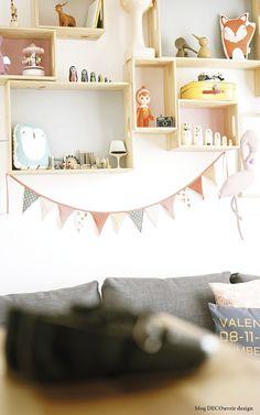 Comodoos Interiores -Tu blog de Decoracion-: Un espacio para Valentina. Decora la habitacion de una niña