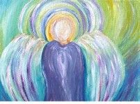 Angel#15  2012 Copyright Angela DeMuro  $20.00;To purchase a print go to: http://www.angelademuro.com/shop-angel-art.html