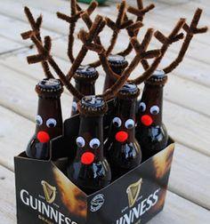 Rootbeer reindeer // Rénszarvasos ajándék sörből // Mindy - craft tutorial collection // #crafts #DIY #craftTutorial #tutorial #ChristmasCrafts #Christmas