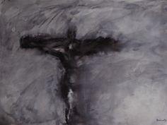 Boissoudy Christ 30×40 Lavis de feutre sur papier Washed felt-tip pen on paper 2012