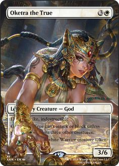 Oketra the True If you have any suggestions for a card you would like to see let me know.
