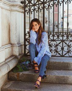 "17.7 mil Me gusta, 151 comentarios - María Fdez-Rubíes Soler (@mariafrubies) en Instagram: ""   pc: @jorgebarcenag"" Spanish Girls, Spring Summer, Style Summer, Travel Style, Hipster, Outfits, Photography, Blue, Beauty"