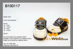 B100117  Sepatu sport  Warna sesuai gambar  IDR 75*
