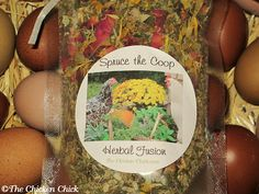 The Chicken Chick®: Herbal Pest Control: Spruce the Coop Herbal Fusion DIY recipe