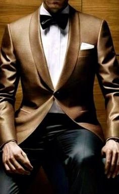 I'm really intrigued by this tux.
