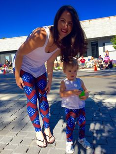LULAROE Patriotic Mommy and Me! Leggings! July 4th Americana Collection!
