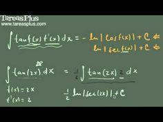 Integral de la función tangente