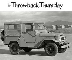 Open road and a 1961 #LandCruiser. Where would you go? #TBT