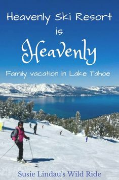 Heavenly Ski Resort is heavenly for a family vacation in Lake Tahoe. It's the perfect travel destination for a skiing or snowboarding adventure! Click to see my photo journey. #travel #photography #adventure #outdoors #family