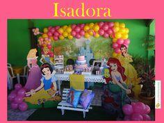 20/11/2016, decoração infantil tema Princesas.