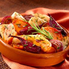 Oven-roasted Root Vegetables. Great site for Nu wave oven recipes.