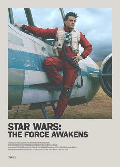 Star Wars: The Force Awakens Minimal Movie Poster  https://society6.com/theearlofgrey