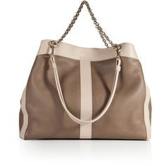 SEE BY CHLOÉ Leather Chain Handle Tote
