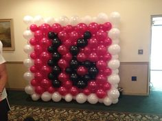 sweet 16 decorations | Sweet 16 Balloon Decor