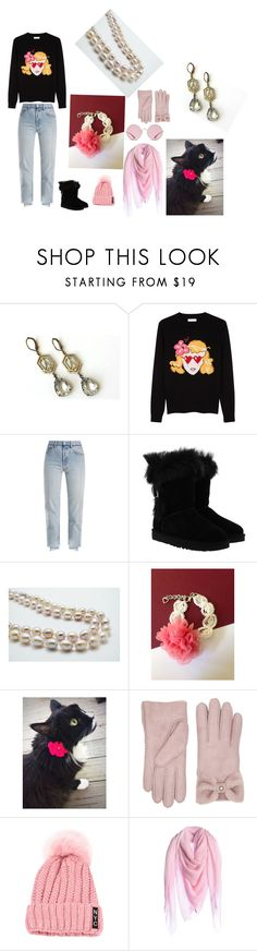 Black Friday by artistinjewelry on Polyvore featuring Chinti and Parker, Vetements, UGG, Dondup and Ray-Ban