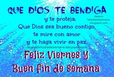 todo mensaje del dia viernes en facebook - Buscar con Google Good Day Quotes, Good Morning Quotes, Quote Of The Day, Morning Blessings, God Bless You, Morning Greeting, Happy Friday, Blessed, Google