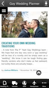 Gay Wedding Planner -  - Android & ITUNES Wedding app! BEST #gaywedding planning app for Same-sex couples!