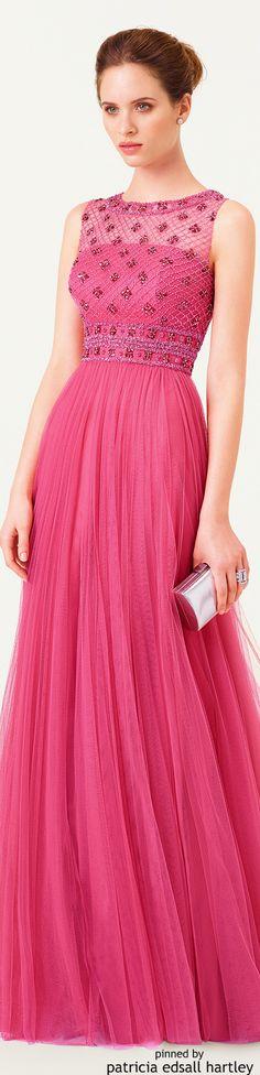 Light pink long dress by Aire Barcelona. Lovely Dresses, Beautiful Gowns, Elegant Dresses, Beautiful Outfits, Pink Fashion, Fashion Dresses, Pink Dress, Dress Up, Evening Dresses