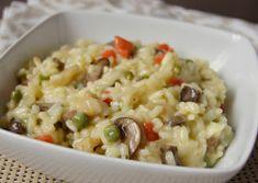 Citromhab: Zöldséges rizotto