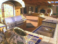 Tips for an Outdoor Kitchen : Home Improvement : DIY Network